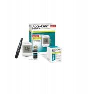 Accu Chek Instant S Glucometer with 10 Test Strip Free