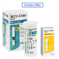 Accu Chek Active 50 Strips with 25 Lancets