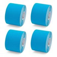 K Tape Blue 5cm x 5m Box of 4 Rolls