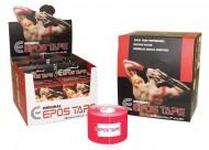 EPOS Original Korean Tape Red  5cm X 5m Box of 6 Rolls