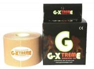 GXtreme Premium Kinesiology Tape 5cm x 5m - Beige Colour