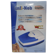 Infi Nebulizer Piston compressor machine for kids and adults to relieve respiratory disorders
