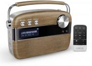 Saregama Carvaan Walnut Brown Portable Digital Music Player with Remote