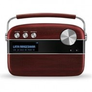 Saregama Carvaan Cherrywood Red Portable Digital Music Player with Remote
