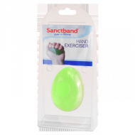 Sanctband Egg Hand Exerciser Ball Lime Green - Medium