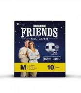 Friends Overnight Adult Diaper 10S Pack Medium