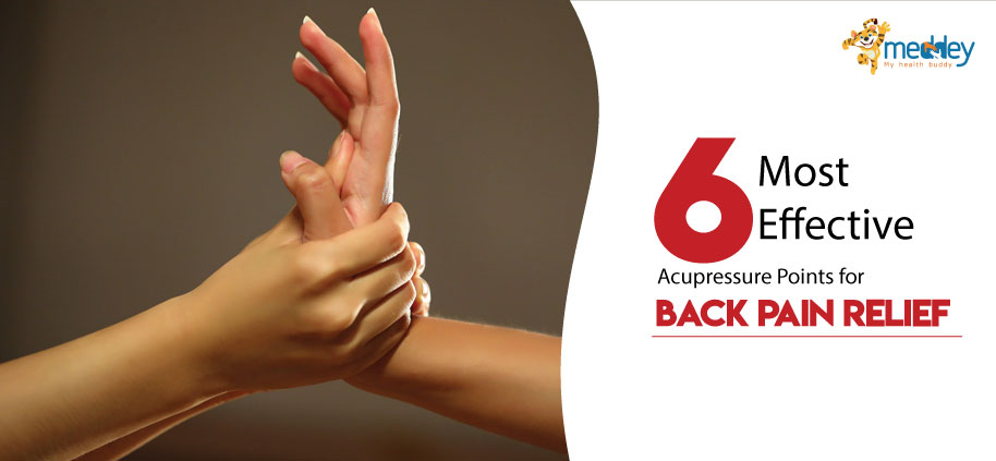 Acupressure for back pain relief | Meddey Technologies