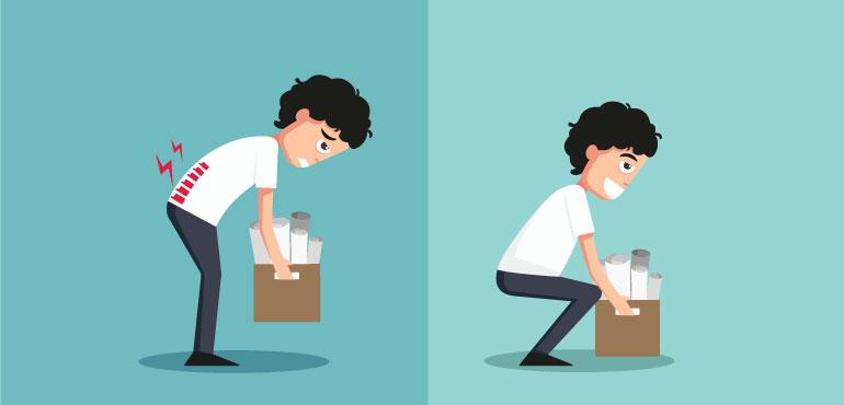 Avoid improper or Heavy lifting
