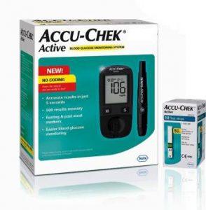 accu chek active glucometer machine