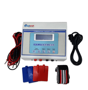 medansh physiotherapy mini lcd combo ift, ms & tens with 125 programs