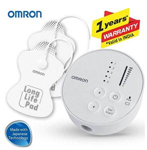 omron physiotherapy tens nerve stimulator machine