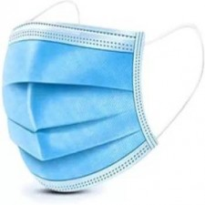 3 Ply Surgical Pollution Mask with Nose Pin (Pack 0f 1000)