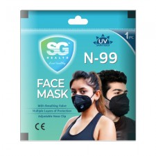 N-99 Face Mask Pack of 2 Pc