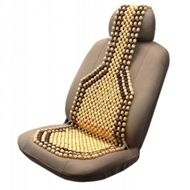 Buy Autofurnish Car Wooden Bead Seat Online