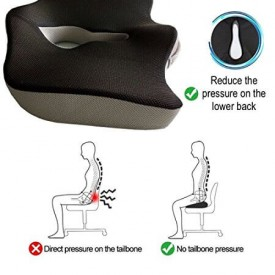 Coccyx cushion usage