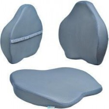 Premium Ortho Backrest Memory Foam Grinhealth