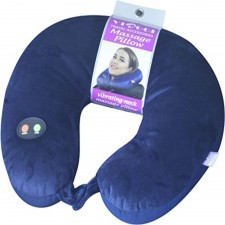 Viaggi Vibrating Neck Massage Pillow VIA0085