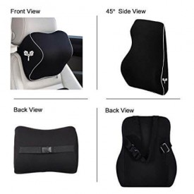 Car backrest features