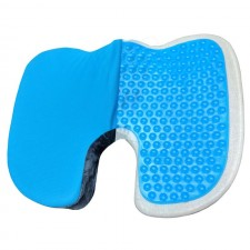 Coccyx Gel Cushion for Coccydania Tail Bone Sciatica Back Pain Releif by Viaggi