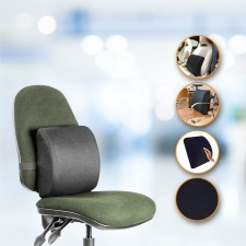 Lumbar Support Memory Foam Backrest Cushion