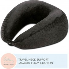 U Shaped Travel Neck Rest Medium Support Memory Foam Pillow - Neck Support