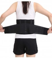 Premium Lower Back Brace Lumbar Support belt with adjustable straps for Back Pain Relief
