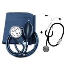Rossmax Sphygmomanometer BP Machine with Dr Morepen Stethoscope - Aneroid GB101