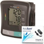 AccuSure TD Blood Pressure Machine with Power Adapter