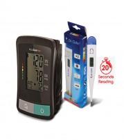 Accusure TD BP Machine and Digital Thermometer