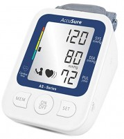 AccuSure AS Extra Large LCD and WHO Approved BP Monitor