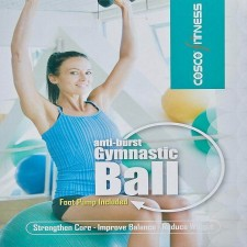 Cosco Anti Burst Ball 55cm with pump