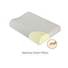 Cervical Memory Foam Queen Size Bed Pillow - The Willow Pillow