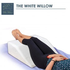 Bed Wedge Pillow Memory Foam for Leg Support for back hip and knee pain relief