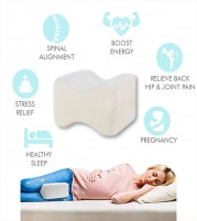 Knee Support Memory Foam Leg Rest Pillow - Sciatica Knee  Leg Pain