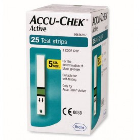 Accu Chek Active Strips 25 Pack