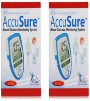 AccuSure Gene Glucometer 100 Strips (Pack of 50 x 2)