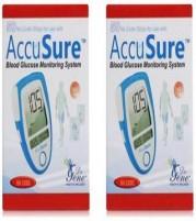 AccuSure Gene Glucometer 100 Strips (Pack of 50 x 2)