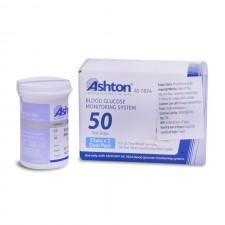 Ashton Glucometer Strips Box (Pack of 50 Sugar Strips)
