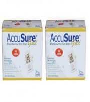 AccuSure Gold 100 Strips ( Packs of 50 x 2)