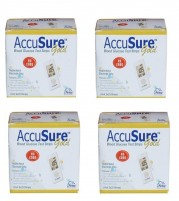 AccuSure Gold 200 Strips ( Packs of 50 x 4)