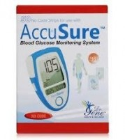 Accusure Blue 50 Strips