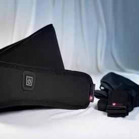Portable  Wireless Heating Belt For Back Pain Sandpuppy Fitbelt AWFG001 - Universal Size Black