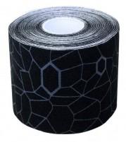 Theraband USA Kinesiology Tape Black Grey Print