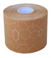Theraband USA Kinesiology Tape Beige Print