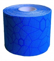 Theraband USA Kinesiology Tape Blue Blue Print