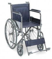 Wheelchair with Spoke Wheels