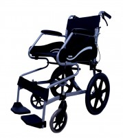 Wheelchair with premium mag wheels for ease of movement