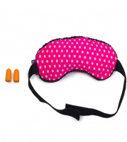 Eye Mask Microbeads with Ear Plugs from Viaggi