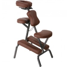 Back Massage Chair Brown
