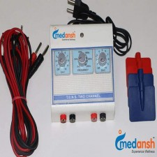 Medansh MINI TENS MACHINE 2 CHANNEL